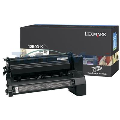 LEXMARK C750 PRINT CART BLACK